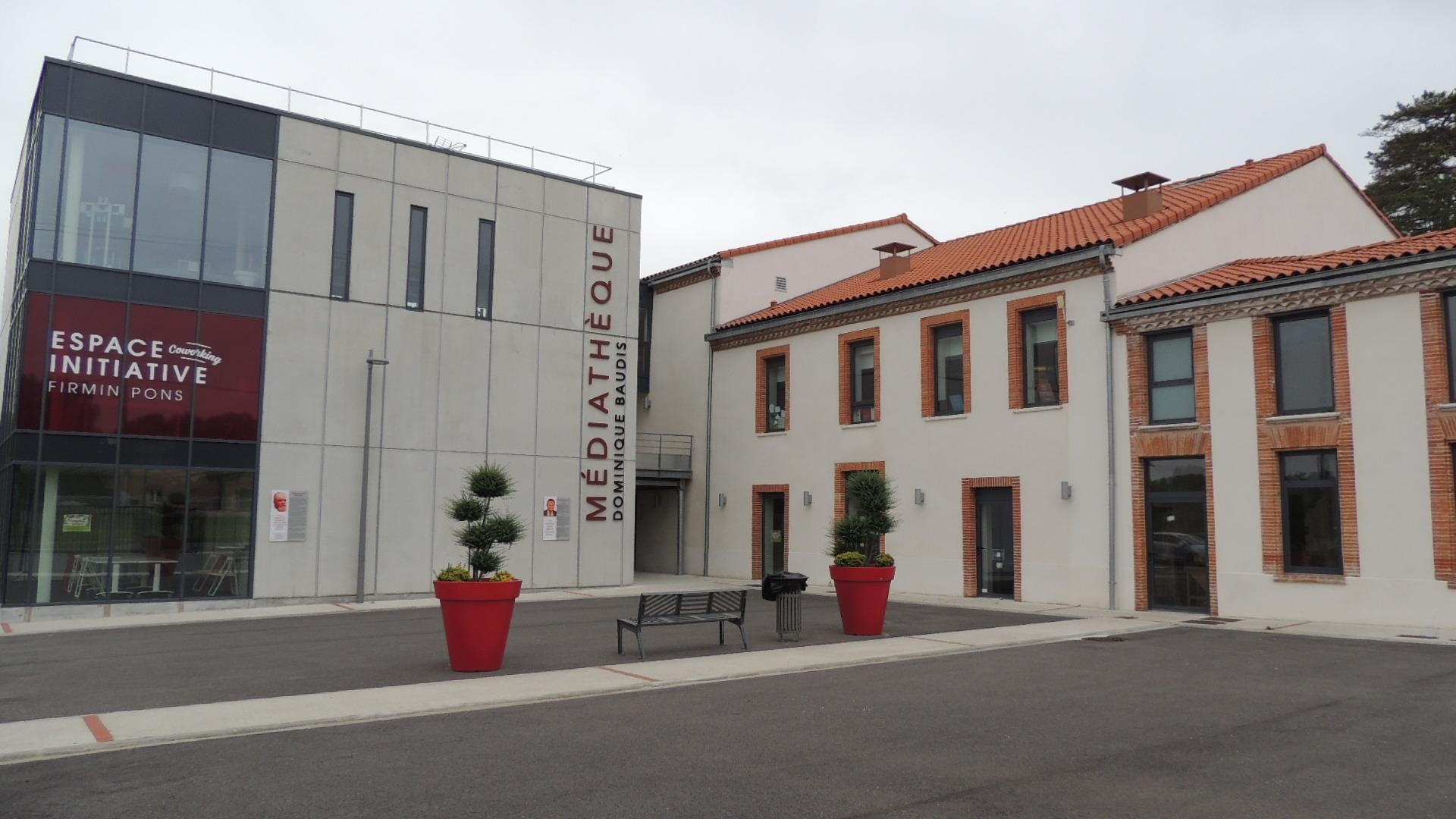 La Médiathèque Dominique Baudis