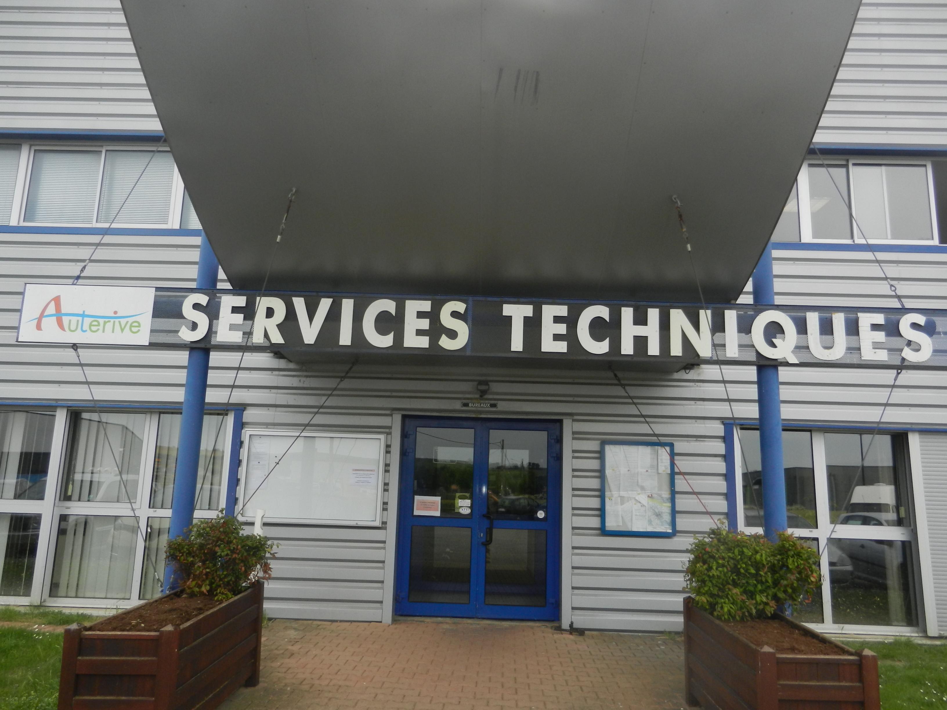 Les Services Techniques de la ville