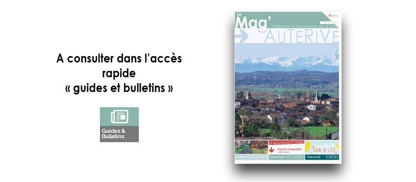 Bulletin municipal n°1 - Auterive le Mag'