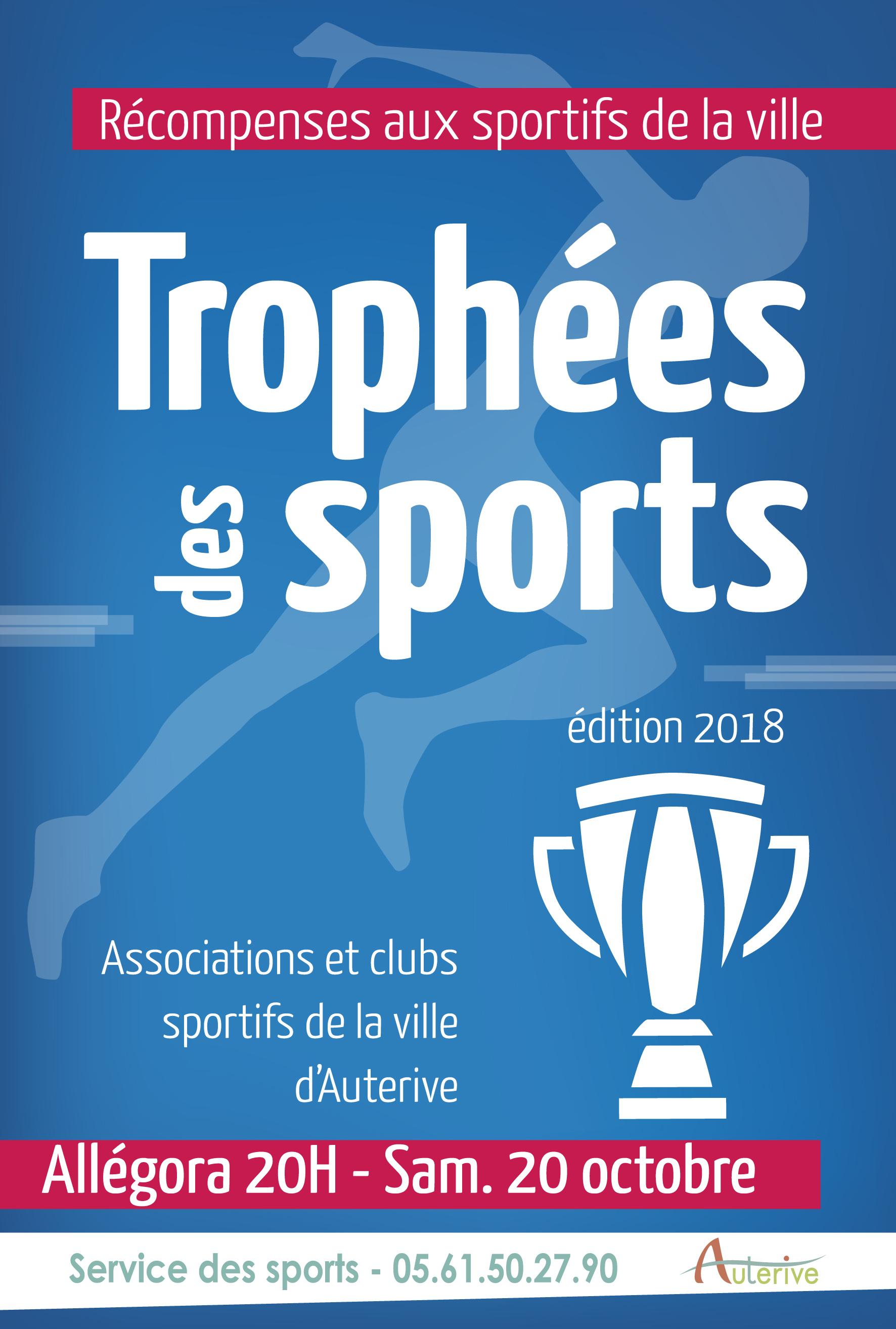 Samedi 20 octobre, la cérémonie des trophées du sport