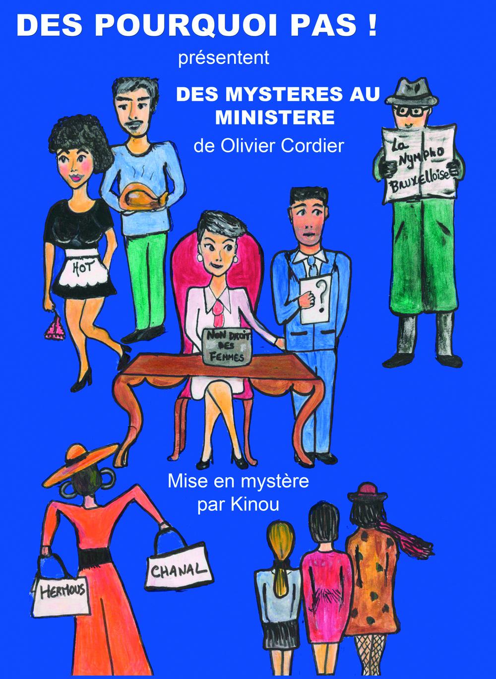 ANNULÉ - DES MYSTÈRES AU MINISTÈRE