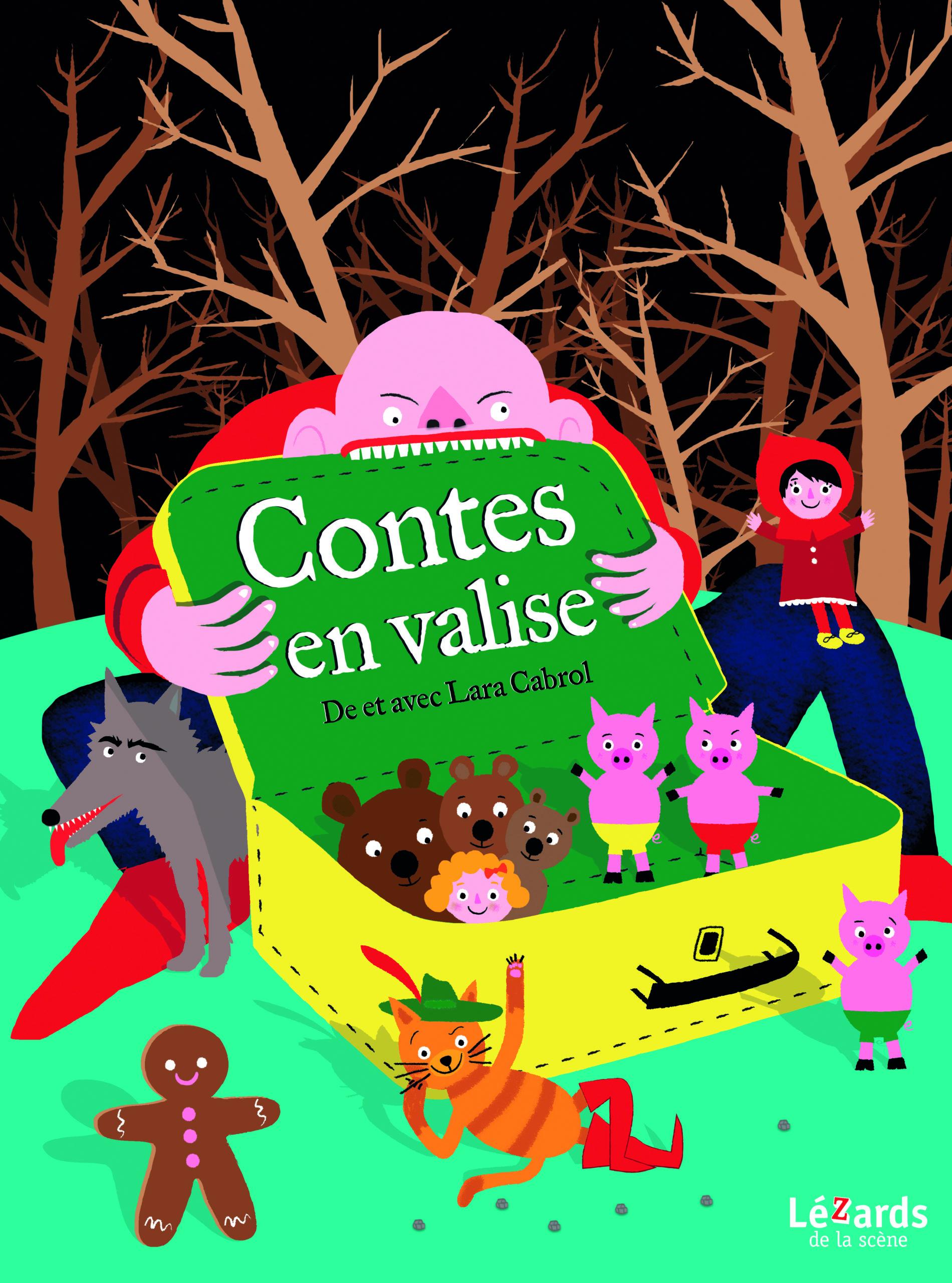 CONTES EN VALISE À FAIRE PEUR - 10H SEANCE SUPPLEMENTAIRE